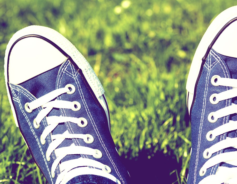 scarpe tela uomo